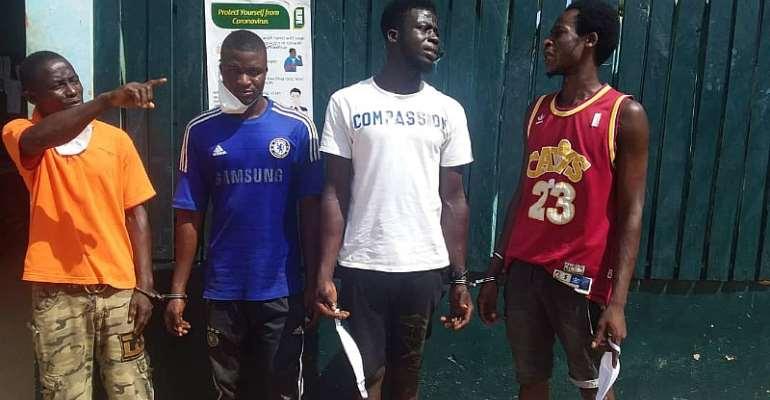 Voter Registration: 4 Togolese Grabbed