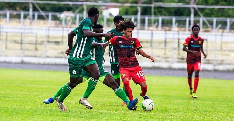 VIDEO: Asante Kotoko 1-1 King Faisal – GHPL Matchday 32 highlights