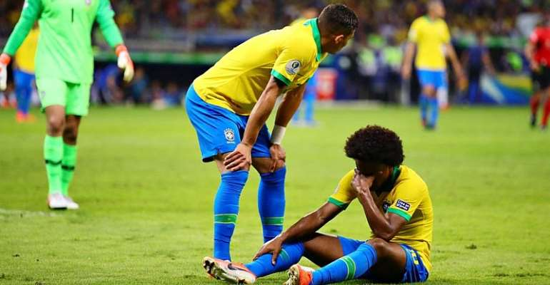 Willian To Miss Copa Final With Hamstring Injury