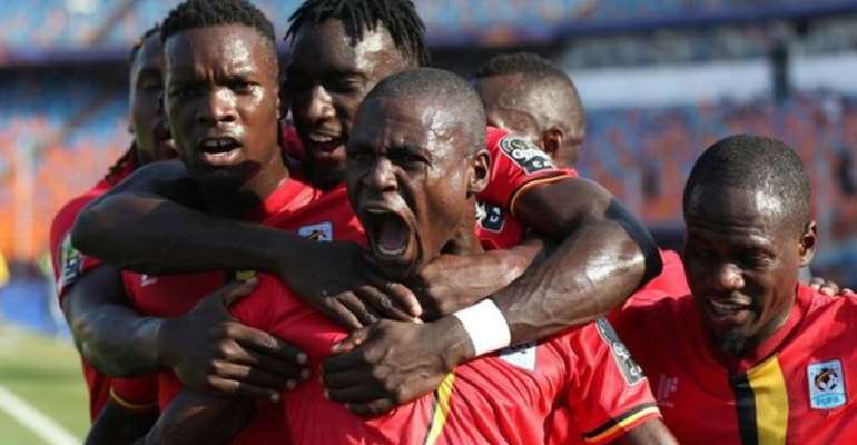 AFCON 2019: Uganda Players Returns To Training After Securing Extra Incentive