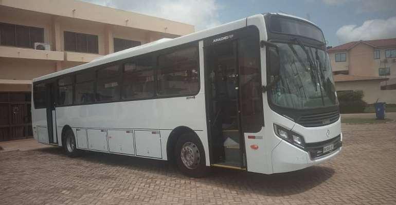 Sunyani Technical University gets new 61-seater bus