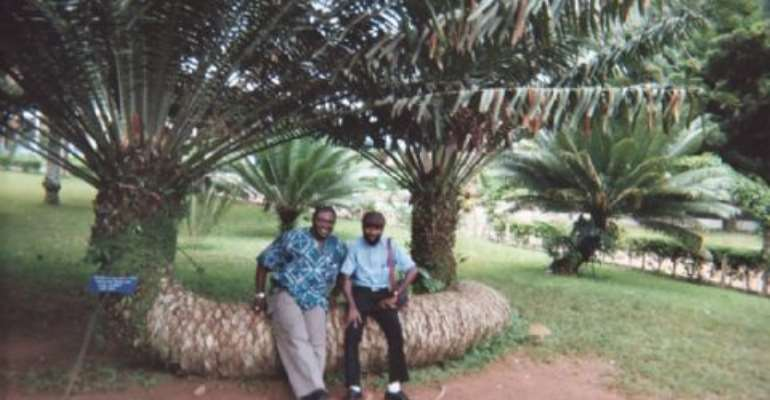 The Beautiful Aburi Botanic Garden of Ghana
