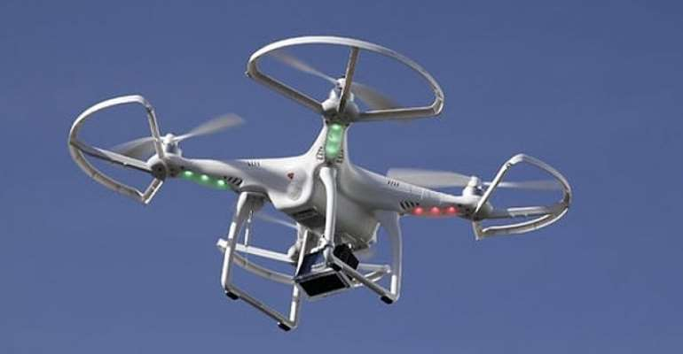 Ghana Police Service Embraces The Future Of Policing By Introducing Unmanned Aerial Vehicle Technology (Drones)