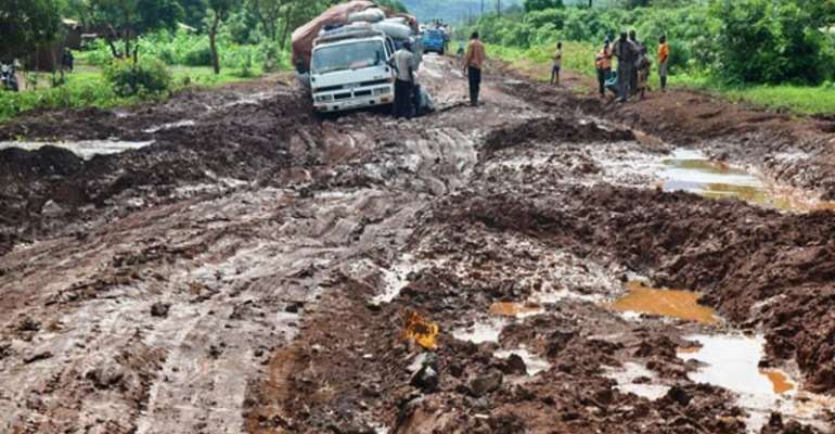 The Deleterious State Of The Eastern Corridor Road