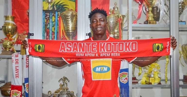 OFFICIAL: Justice Blay Completes Asante Kotoko Move