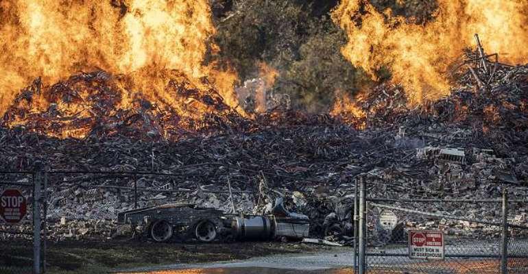 Fire in Jim Beam warehouse - 45,000 barrels destroyed