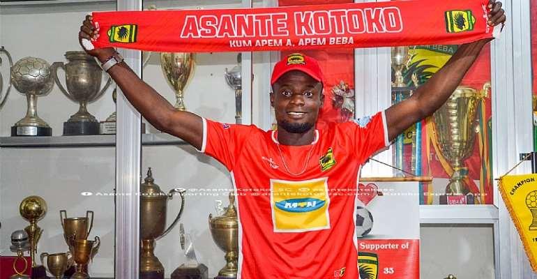 OFFICIAL: Kwame Baah Completes Asante Kotoko Move