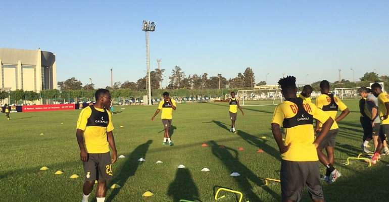 AFCON 2019: Black Stars Resume Training For Monday's Clash Against Tunisia [VIDEO]