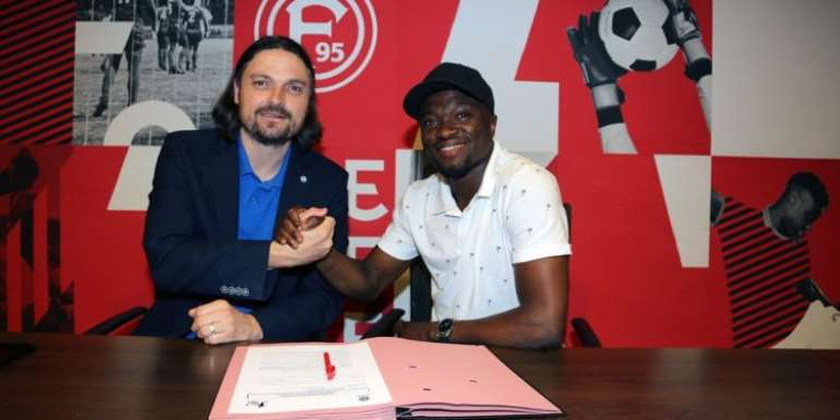 Fortuna Dusseldorf Sign Ghana's Bernard Tekpetey On Loan