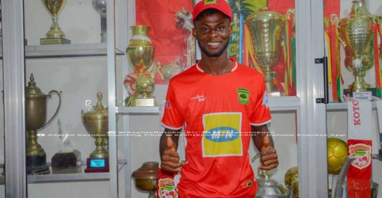 OFFICIAL: Kotoko Completes Signing Of Former Wa All Stars Winger Kevin Andoh
