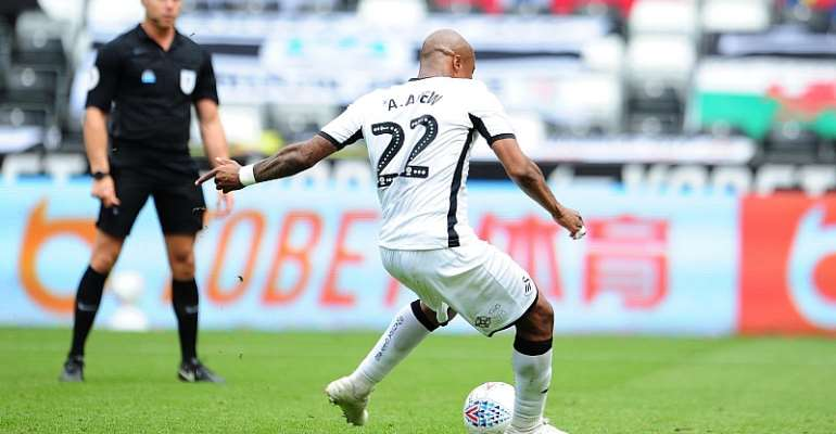 Andre Ayew Elated After Scoring To Power Swansea City To Beat Sheffield Wednesday