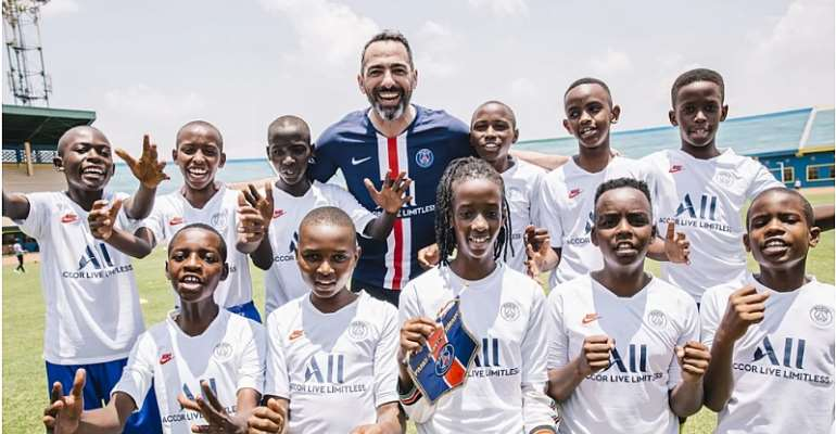 200 young Rwandans to join PSG Academy in September