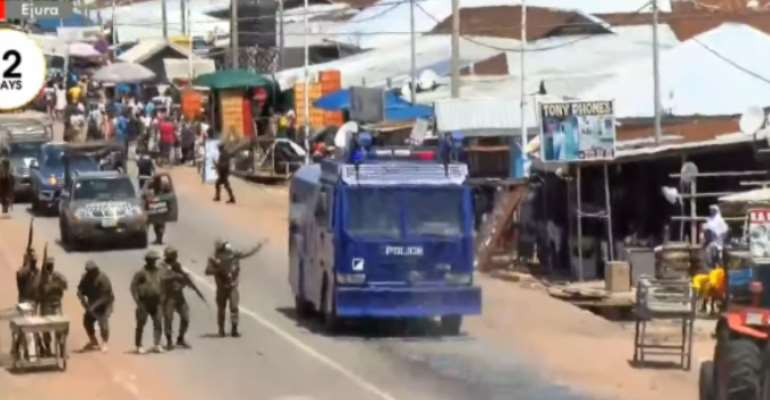 Ejura Killings: Interior Ministry must decouple police operations from military in maintaining law and order in our communities — Group