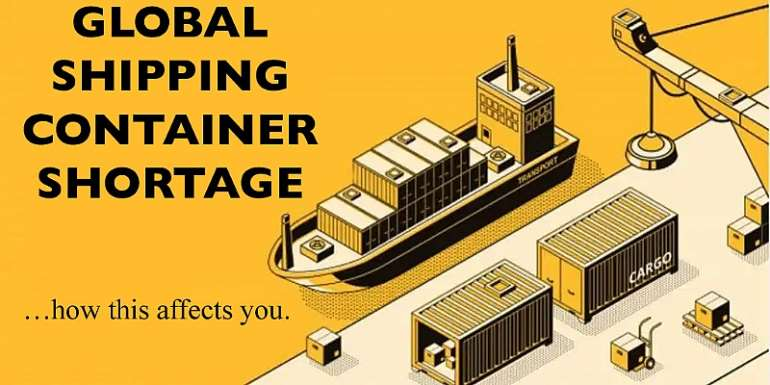 Shortage of Shipping Containers Worldwide