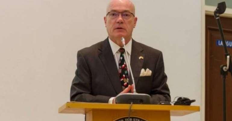 US Ambassador to Ghana Robert Jackson