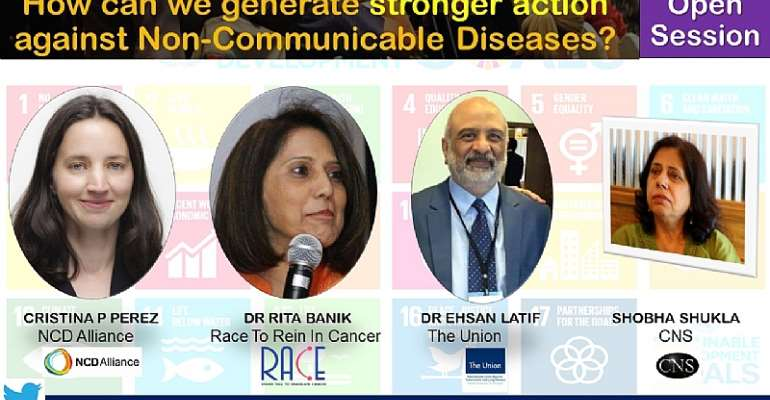 Communicate with each other to beat the non-communicable diseases