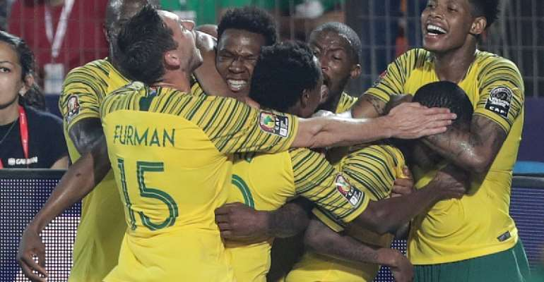 AFCON 2019: South Africa 1-0 Egypt – Sad Scenes As Host Nations Bow Out Of Tourney
