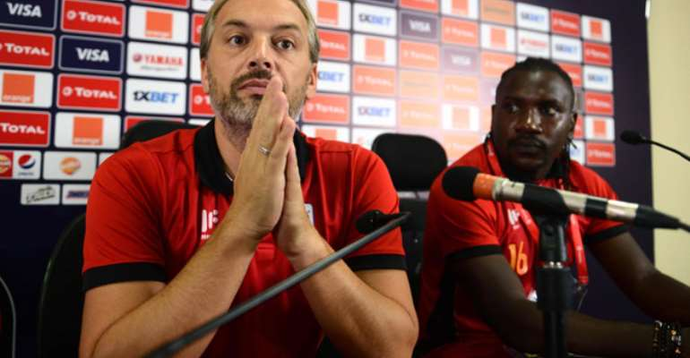 AFCON 2019: Uganda Coach Sébastien Desabre Proud Of Players Despite Elimination
