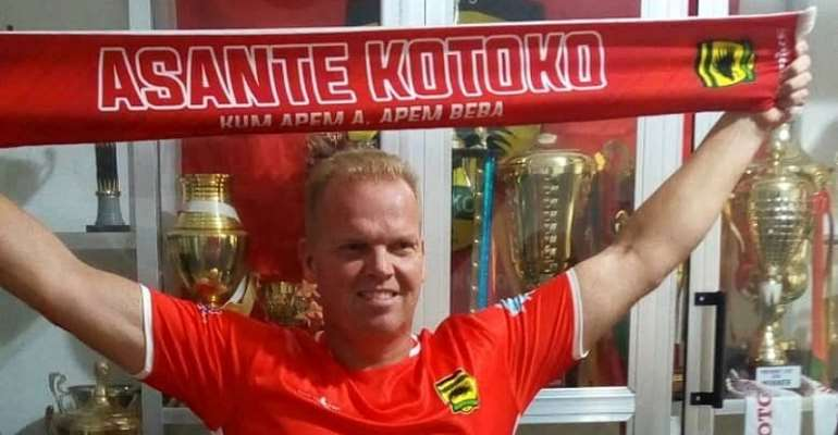 CONFIRMED: Asante Kotoko Appoints Norwegian Coach Kjetil Zachariason