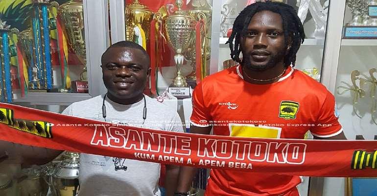 Asante Kotoko Sign Ivorian Striker On A Three-Year Deal
