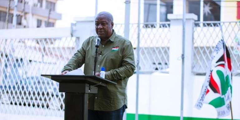 Mahama To Present Running Mate To NDC's NEC Today