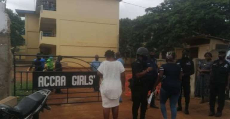 COVID-19: Students Are Safe - Accra Girls Assures