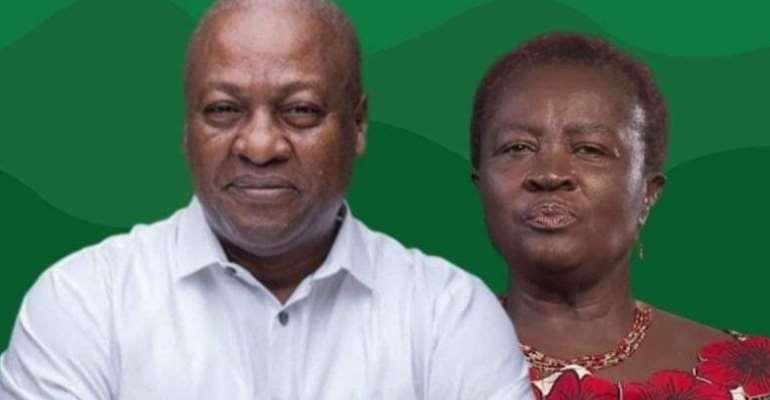 NDC Regional Communication Officers Congratulate Naana As Mahama's Running Mate