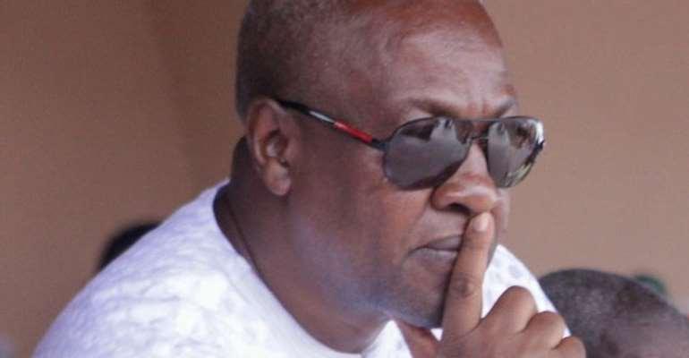 Confusion Hits NDC Over Mahama's Running Mate Choice