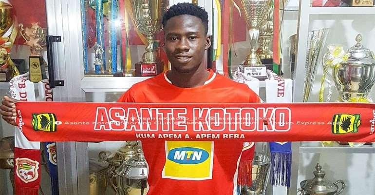 CONFIRMED: Ashanti Gold Midfielder Godfred Asiamah Joins Kotoko