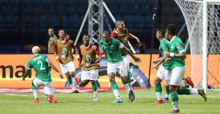 AFCON 2019: Madagascar Continues Dream Campaign After Beating D.R Congo To Cruise Into Quarter Final