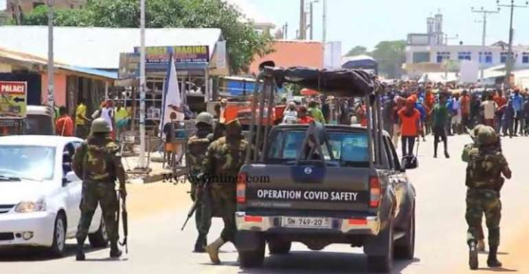 Ejura probe: I called for police reinforcement, not military – District Police Commander