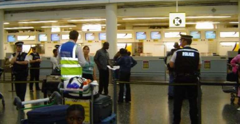 Ghanaians Stranded At London Gatwick
