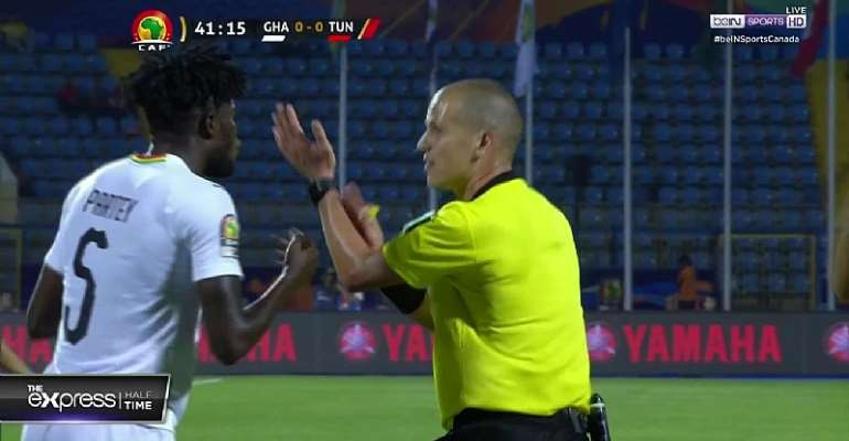 AFCON 2019: Laryea Kingston Slams Referee Victor Gomez; Insists Andre Ayew Scored A Clear Goal
