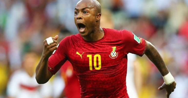 AFCON 2019: Andre Ayew Optimistic Of Win Against Tunisia