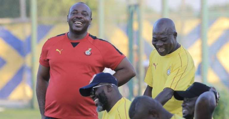 AFCON 2019: Kwesi Appiah Hails Sports Minister's Presence At Black Stars Camp