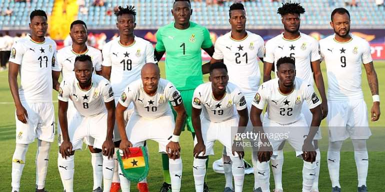 AFCON 2019: Ghana's Starting XI Against Tunisia Announced
