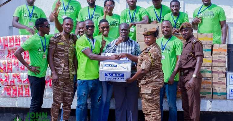 John Antwi Foundation Donates To Sekondi Prisons [PHOTOS]