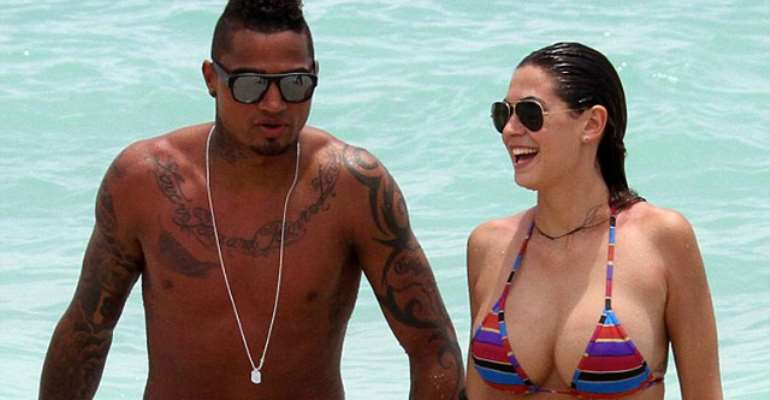 Kevin Prince Boateng's Wife Reveals How Her Sex Comments Almost Collapsed Her Marriage