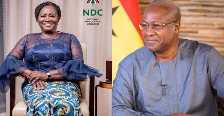 Another One Touch Victory For  Mahama, With Prof. Naana Jane As Running Mate