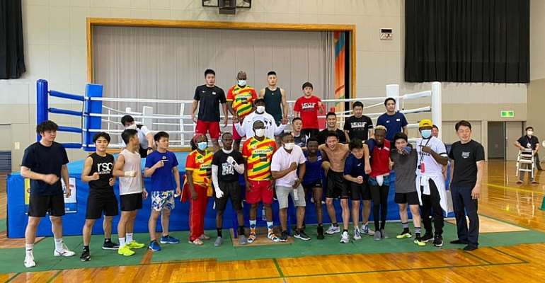 Black Bombers on course for Tokyo 2020 mission with impressive work out against Japanese team