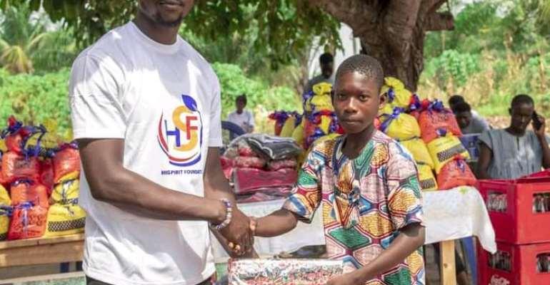 Ketu North: High Spirit Foundation supports Aveyiborme Basic School