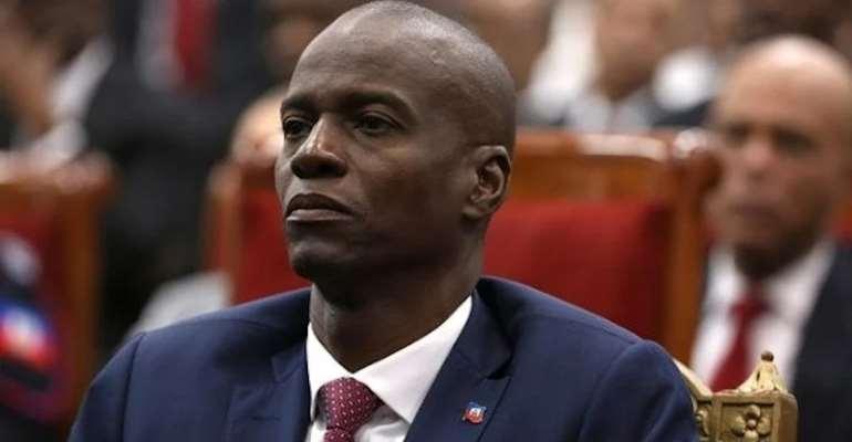 President Jovenel Moise Of Haiti