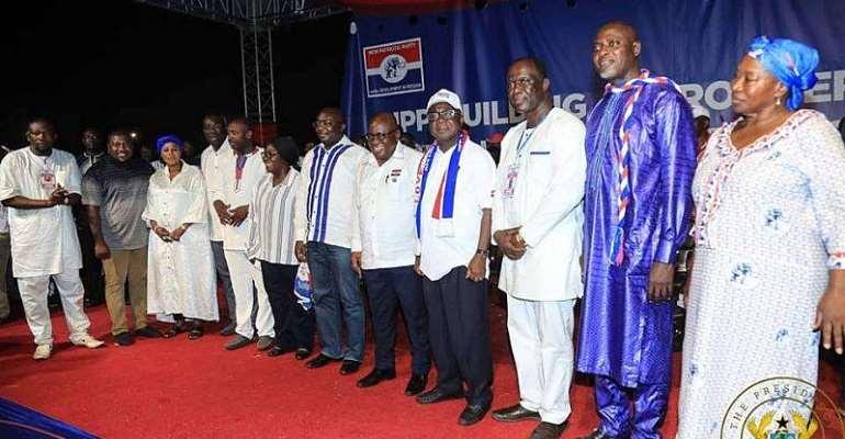 NPP new national executives