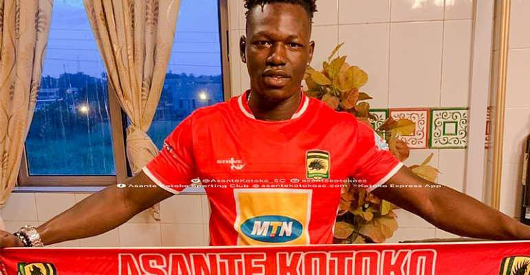Asante Kotoko Sign Richard Arthur On A Three Year Deal
