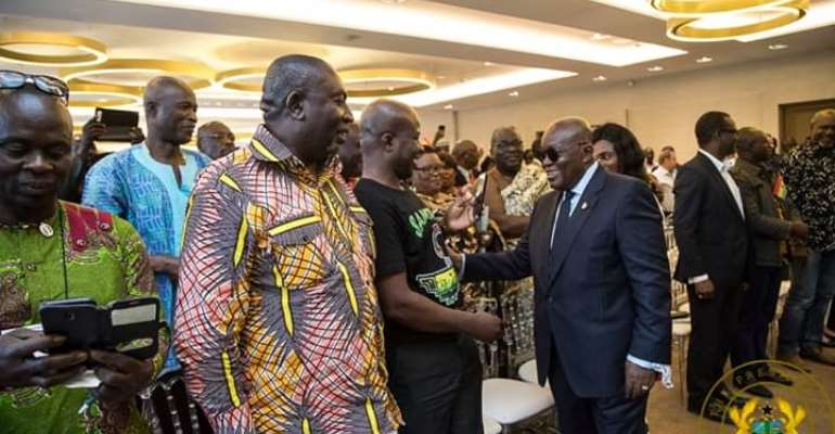 We're Fulfilling Promises Made To Ghanaians – Nana