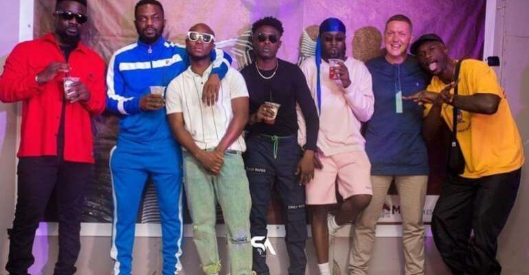 Sarkodie, Efia Odo,Kidi, Joey B And Others Storm King Promise Album Listening Party