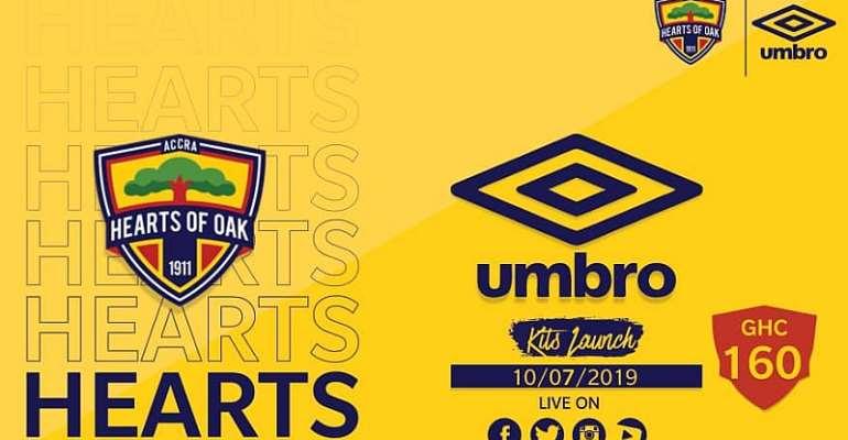 Hearts To Launch Umbro Kits Tomorrow