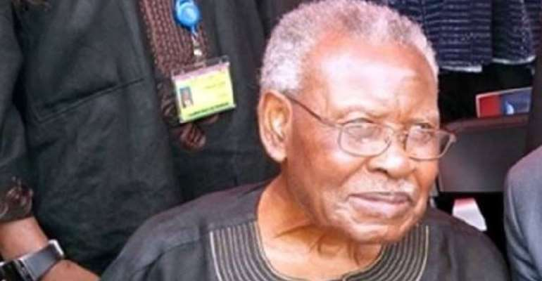 One Year Celebration Of The Death Of Mr. Joseph Henry Mensah  31. 10. 1928 - 12. 07. 2018