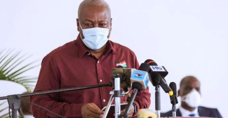John Mahama Eulogises Running Mate Jane Naana