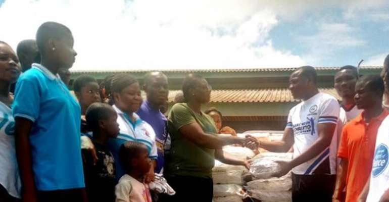 Volta Regional Hospital Gets Support From Pentecost Youth Ministry